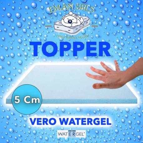 Topper in water gel